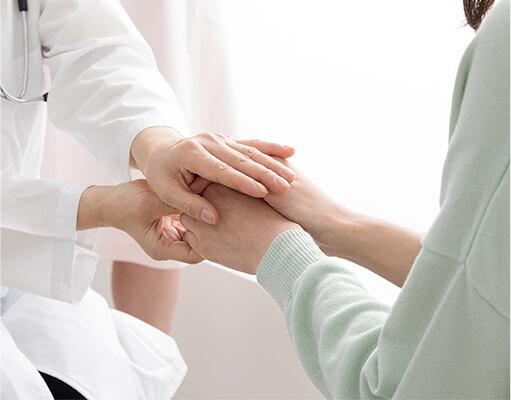 画像:あらゆる皮膚のお悩みに寄り添い、治療のお手伝いをいたします。
